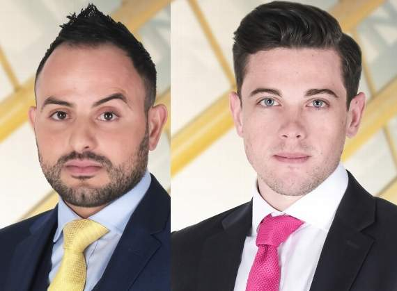 Men from Basildon and Thurrock revealed as contestants in new series of BBC's The Apprentice