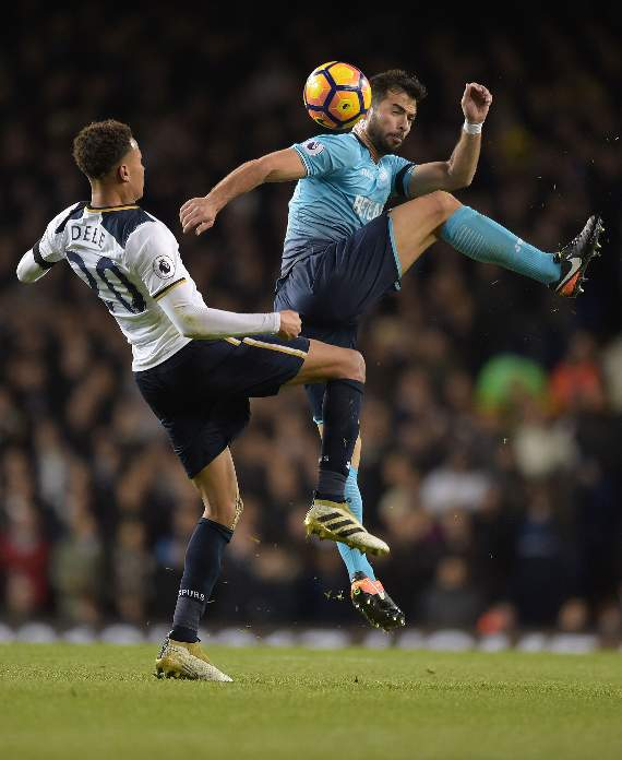 Second half action from White Hart Lane by Martin Dalton