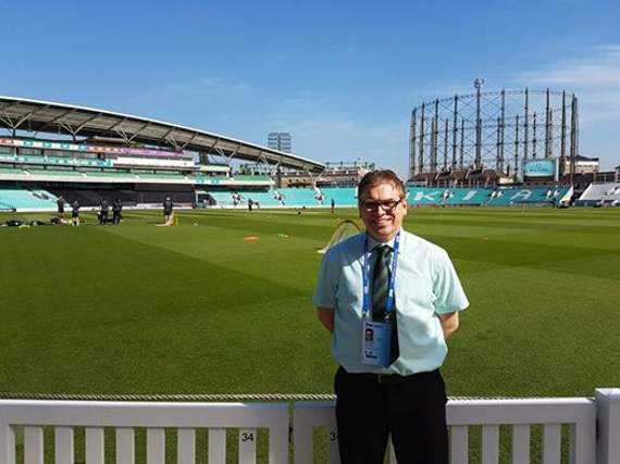 Yellow Sports Brian Jeeves is at the Kia Oval for Surrey's NatWest T20 Blast South Group clash with Essex Eagles