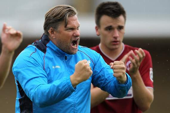 Rod Stringer: 'It's been a good day at the office' - Chelmsford City 5-1 Gosport Borough - Reaction
